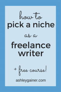 Having trouble finding your best writing niche? Here's what to do.