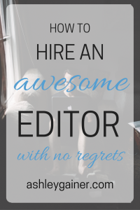 It has an email template! How to hire an editor for your ebook. Some editors are disasters waiting to happen! Now I know how to find a GOOD one who won't ruin my stuff! Such GREAT advice!