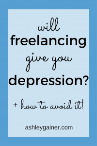 The 6 ways freelancers are susceptible to depression, PLUS awesome techniques to fight back!