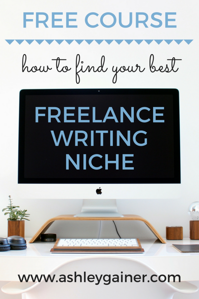 Picking a niche is the first step toward being a work-at-home freelance writing mom. Take this FREE 5-day challenge to find the niche that's right for you!