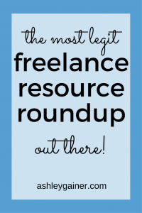 GREAT freelance resource roundup for freelance writers and work-at-home moms!!