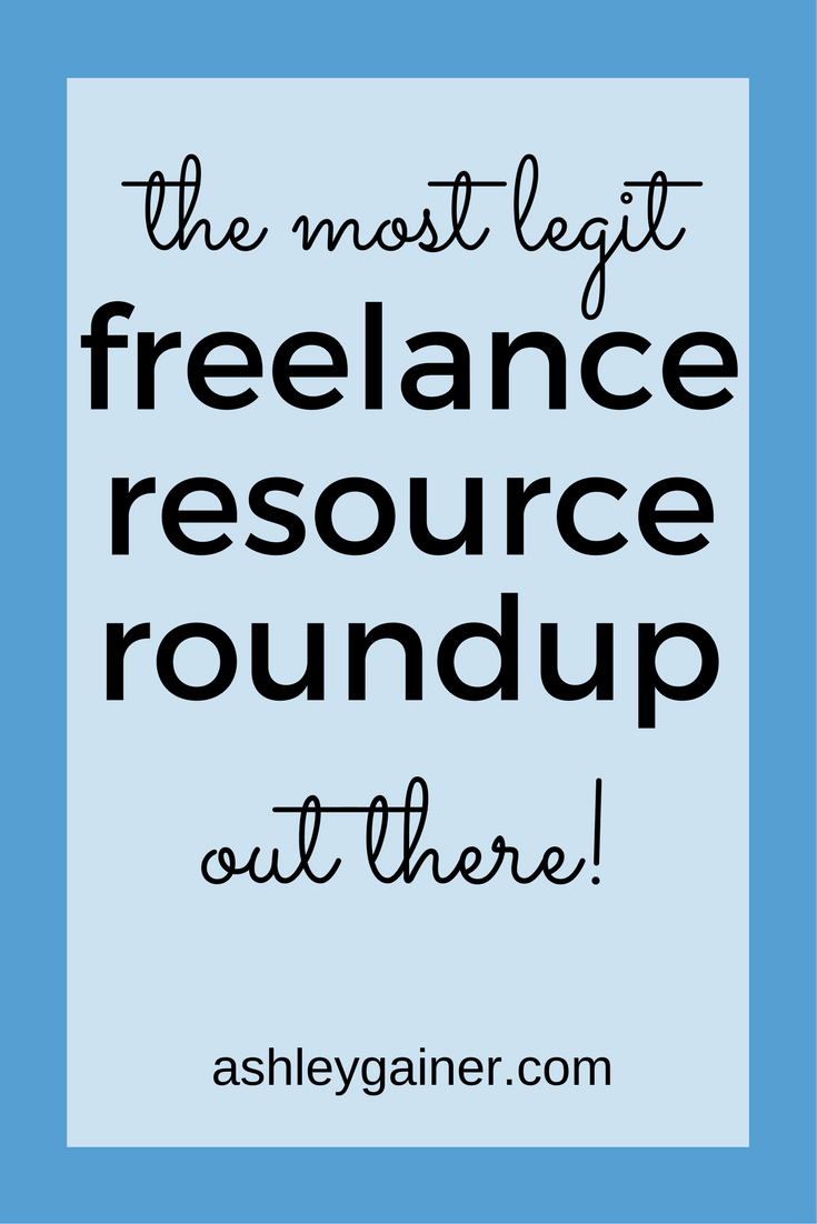 Freelance Writer Resource Roundup