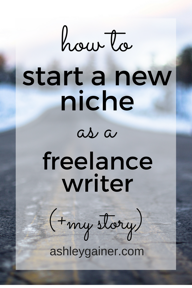 Freelance writing niches seem complicated, but they don't have to be. Here's how to move into a new one quickly and easily, from someone who's done it multiple times!