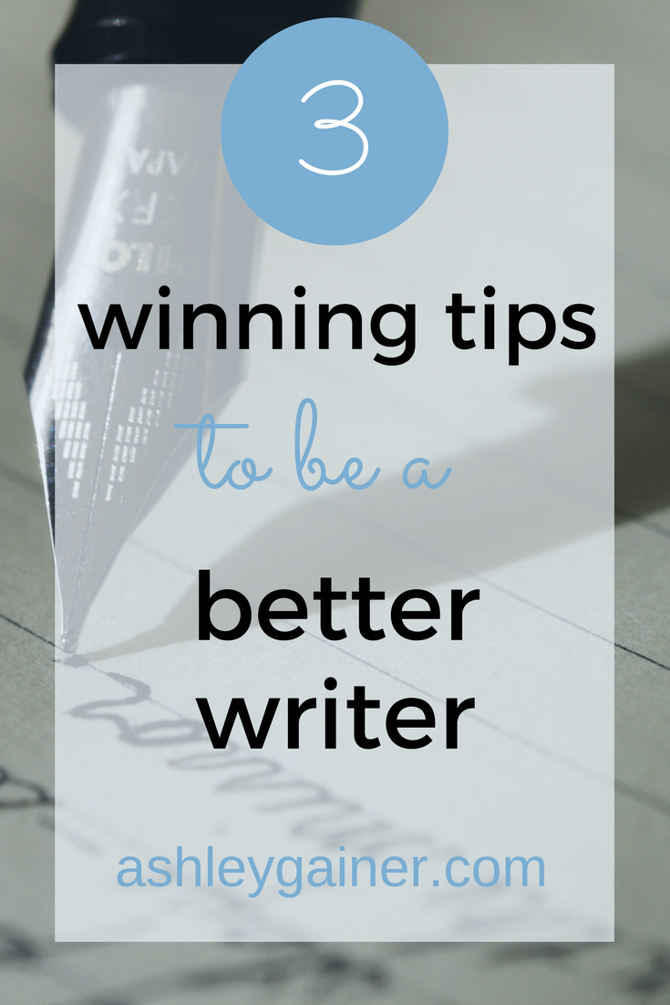 Great tips to improve your writing! Click through to see how to be a better writer and write great stuff!