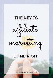 Do you know the #1 thing you need to remember with affiliate marketing? Click through to find out.