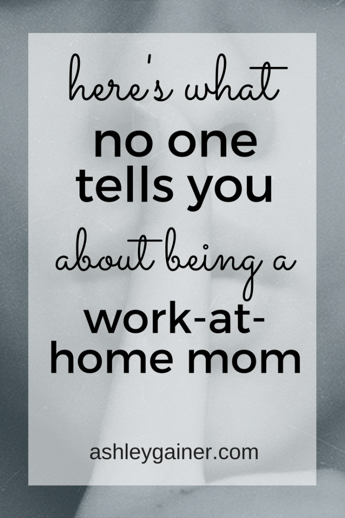 There's a dark side to being a work at home mom. Click through to find out what no one tells you about WAHM guilt and how to banish it for good.