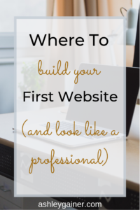 Are you letting not having a website hold you back as a freelance writer? Click here to find out where to get started with your website today!