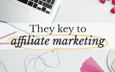 Major milestone report (hint: affiliate marketing)