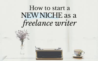 How to change niches (or add a new niche)