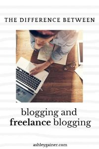 Do you know the difference between blogging and freelance blogging? Click here to learn more!