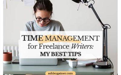 My Calendaring Secrets: Time Management for Freelance Writing