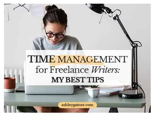 Time management for freelance writers: my best tips