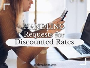 should you discount your rates