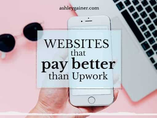 websites that pay better than upwork
