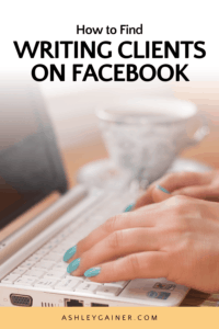 How to find writing clients on Facebook