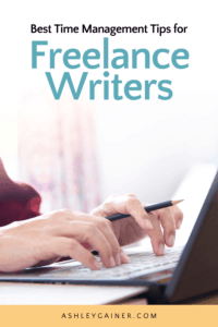 Best time management tips for freelance writers