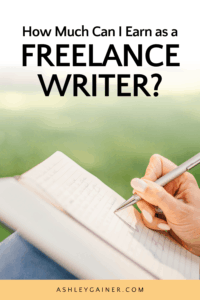 how much can I earn as a freelance writer?