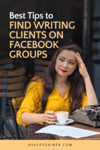 Best tips to find writing clients on facebook groups