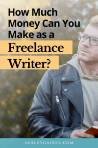 how much money can you make as a freelance writer?