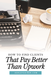 How to find clients that pay better than Upwork