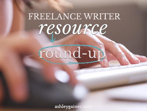 freelance writer resource round-up