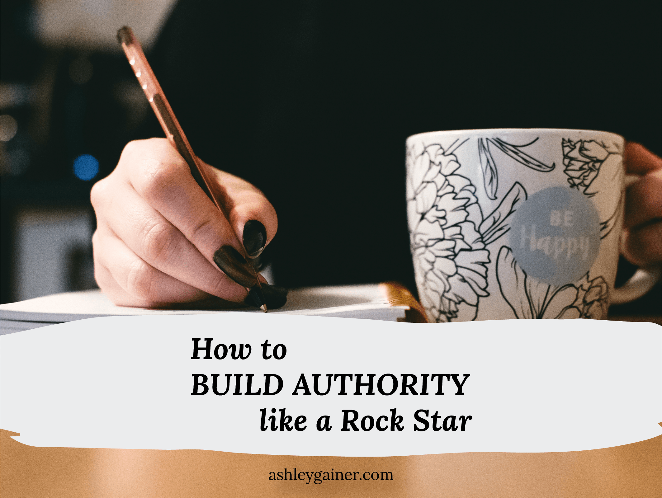 how to build authority like a rock star