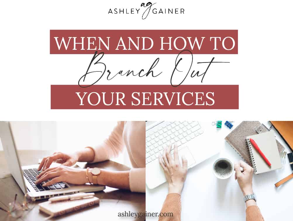 when and how to branch out your client services
